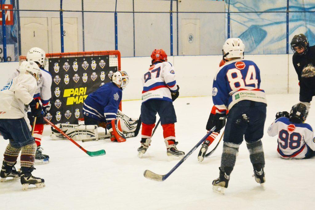 Вперше в Запоріжжі: УХЛ і Parimach провели «Тренування із зіркою» в новому місті